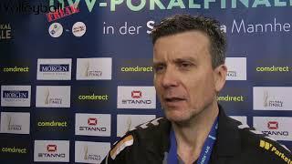 Interview mit Alexander Waibl (Trainer beim Dresdner SC) nach dem DVV-Pokalsieg 2018