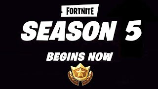 SEASON 5 IN FORTNITE! BATTLE PASS 5 IN FORTNITE ? FREE V-BUCKS FORTNITE