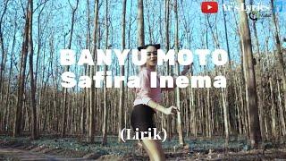 Gambar cover Safira Inema - Banyu Moto - DJ santuy full bass (Lirik) || Ar's Lyrics 🎵