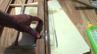 Cutting Glass For A Cabinet Door Or Window