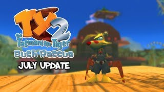 TY the Tasmanian Tiger 2: Bush Rescue PC - Biggest features in the July update!