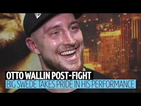 """""""I hope I get the credit I deserve!"""" Otto Wallin immediate reaction to Tyson Fury defeat"""