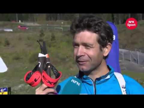 Ole Einar Bjørndalen presents his super trailer   training center & house on wheels
