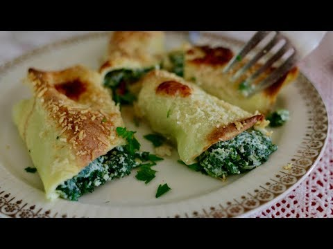 How to Make Easy Italian Pancakes Called Crespelle | Pasta Grannies