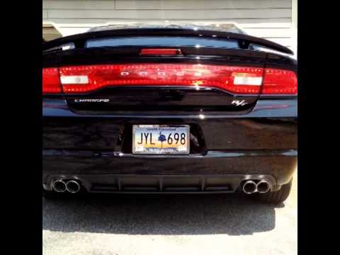 2014 Dodge Charger R T Black Top Corsa Extreme Exhaust