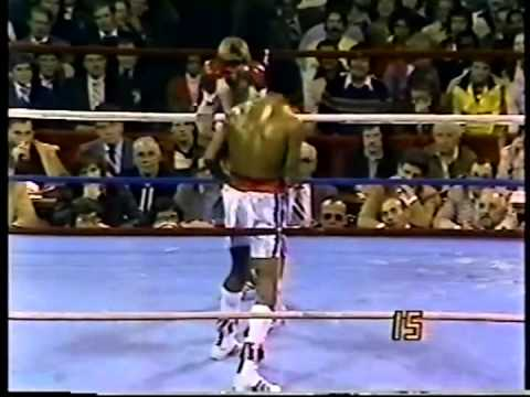 Sugar Ray Leonard vs Davey Boy Green  (High Quality)