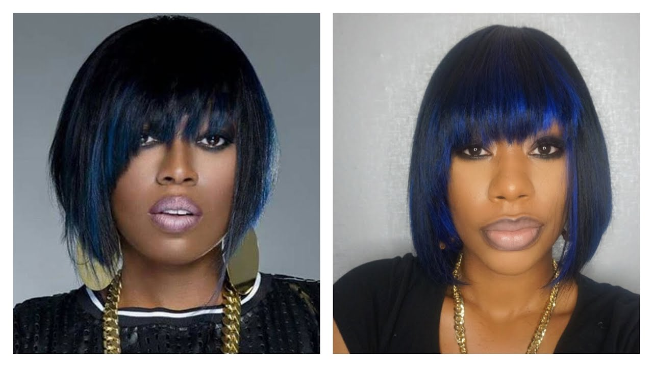 Missy Elliot Inspired Quick Weave Tutorial Chimerenicole