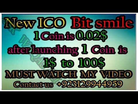 New ICO || Bitsmile coin make money fast best presentation || Ask Waqas Ali