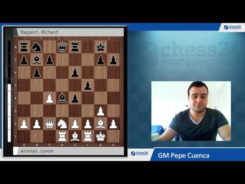 Aronian vs Rapport Tata Steel 2017. Una nueva idea de apertura