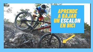 Técnica MTB : Como bajar un escalón con tu mountain bike