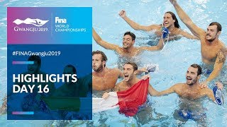 Highlights - Day 16 | FINA World Championships 2019 - Gwangju