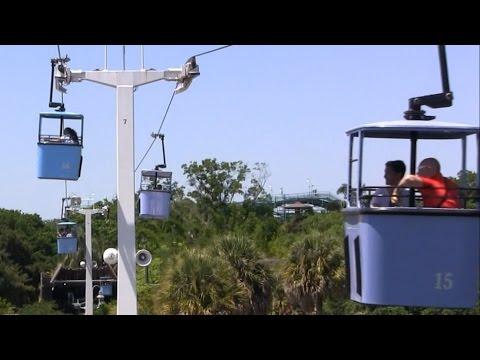 Merveilleux Sky Ride Busch Gardens Tampa