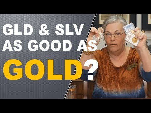 GLD and SLV As Good As Gold?