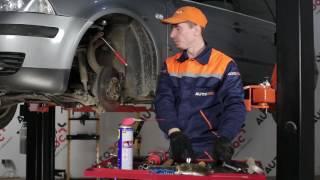 Draagarm wielophanging links en rechts installeren VW PASSAT: videohandleidingen