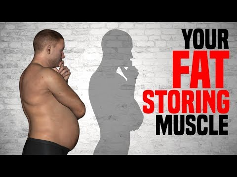 THIS Muscle Causes FAT STORAGE / Stretching for Weight Loss