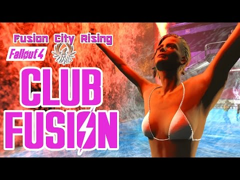 Fallout 4 - Club Fusion Tour - Fusion City Rising Mod - Saucy Night Club