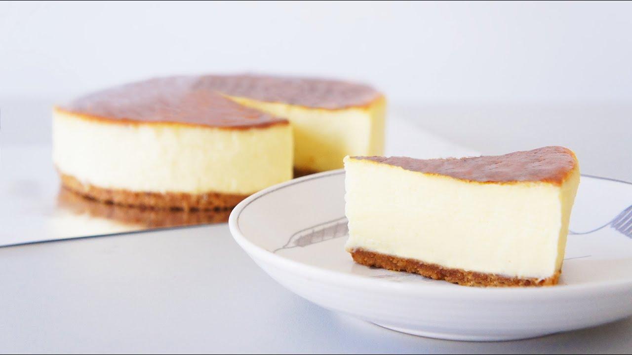 重乳酪蛋糕 紐約起司蛋糕 New York cheesecake - YouTube