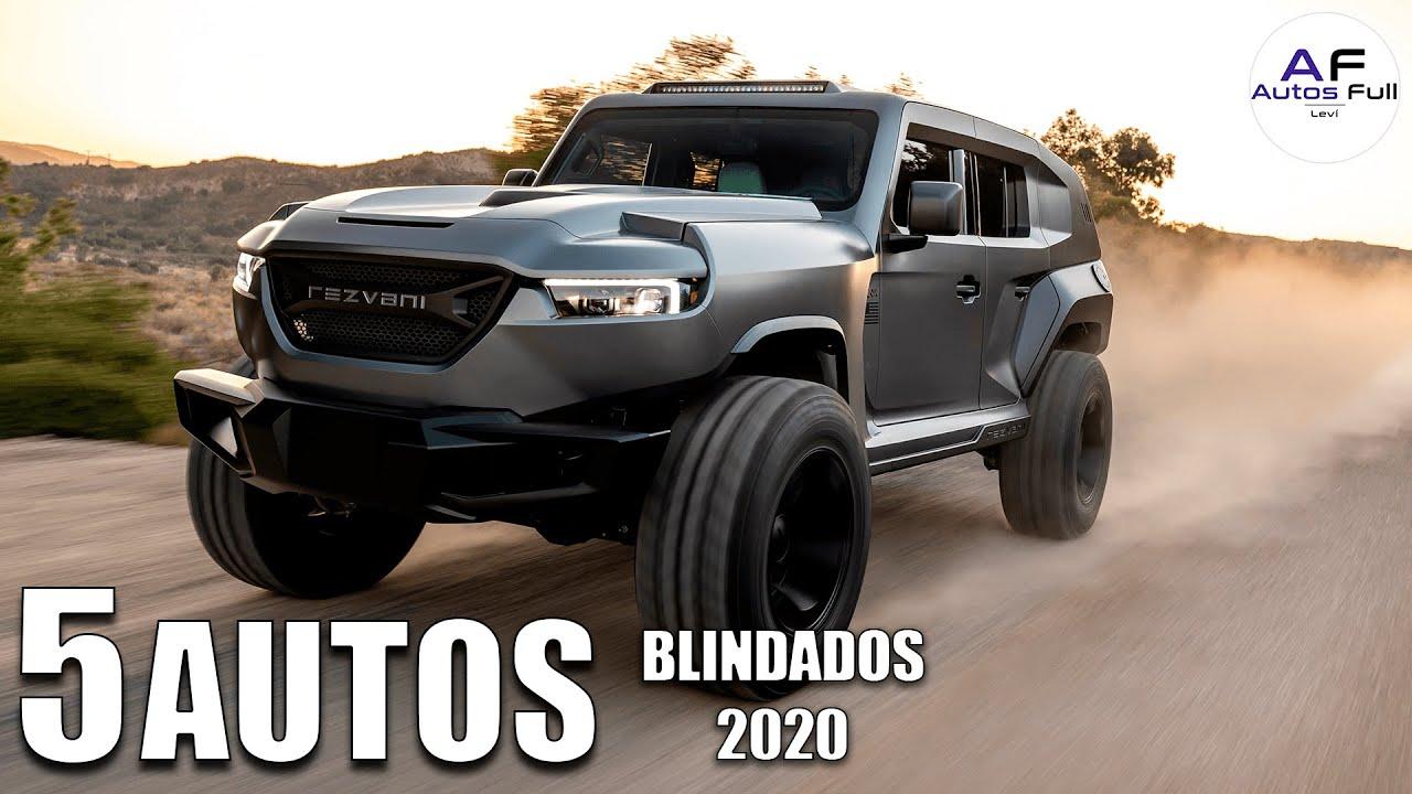 5 Autos Blindados para el Fin del Mundo 😱😱😱