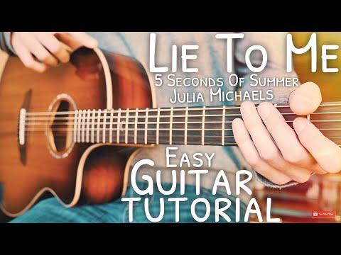 Lie To Me 5 Seconds Of Summer Guitar Tutorial // Lie To Me Guitar // Guitar Lesson #619