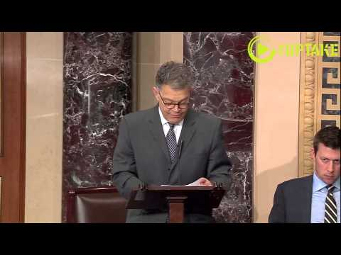 """Franken Could Have Written """"Citizens United"""" Court Opinion In A """"Couple Of Minutes"""""""