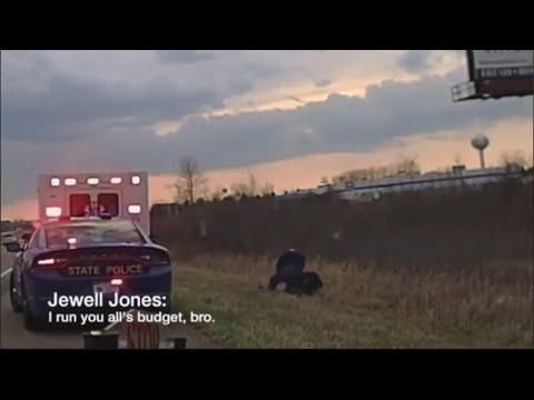 Michigan Rep. Jewell Jones tells troopers 'it's not gonna be good for you' during arrest