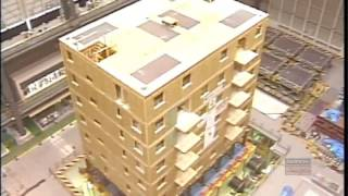 Дом из сип панелей при землетрясении в 7,5 баллов по шкале Рихтера