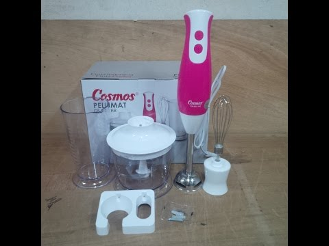 Hand Blender 3in1 Cosmos Cb-653 HB (pink)