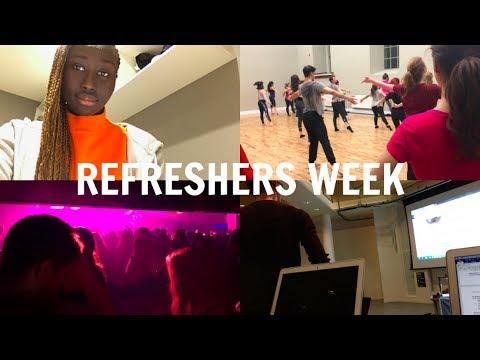 EDINBURGH UNI VLOG #18: REFRESHERS WEEK | HADDY JENG