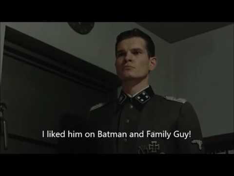 Hitler is informed Adam West has died