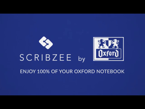 SCRIBZEE by Oxford - Enjoy 100% of your Oxford Notebook