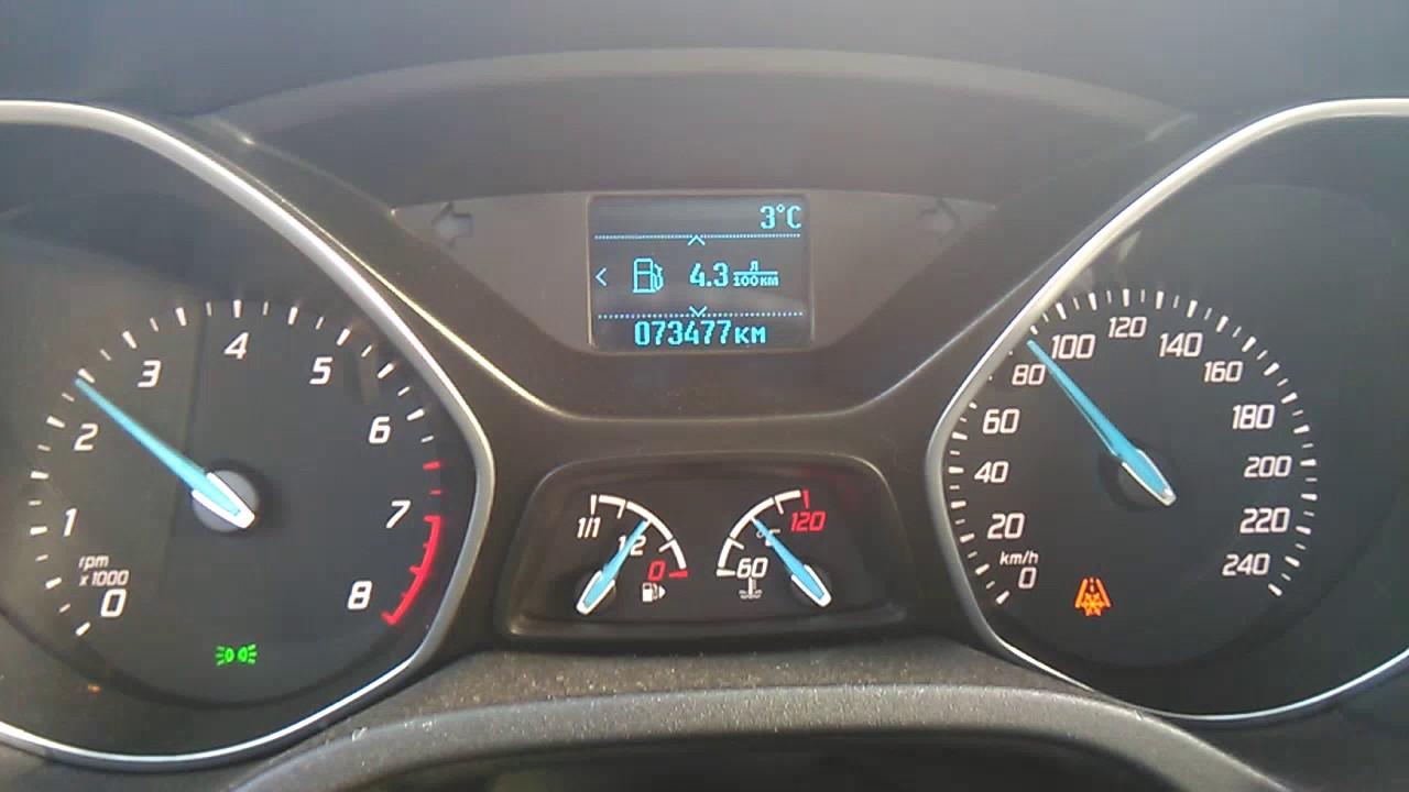 Расход топлива по трассе Форд фокус 3 1.6 105 МТ