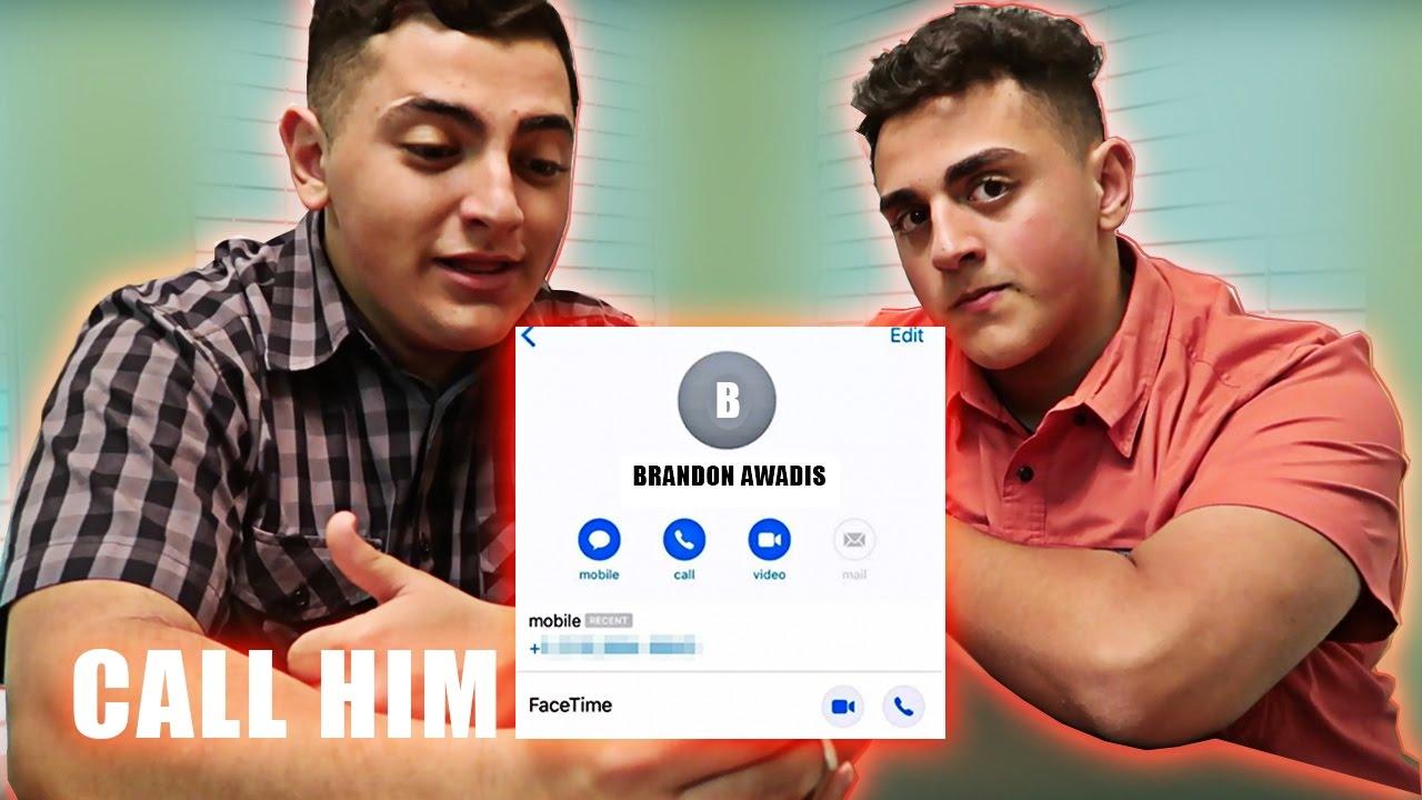 I Leaked Brawadis Phone Number Youtube