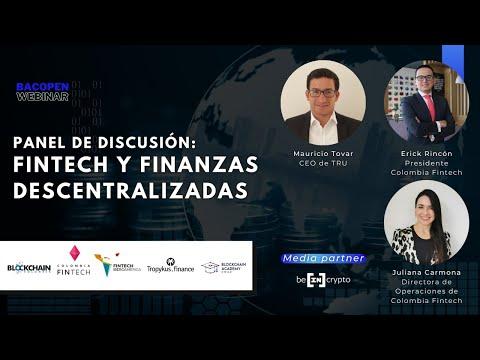 #bacOpenWebinar: Panel de discusión sobre Finanzas Descentralizadas para empresas Fintech