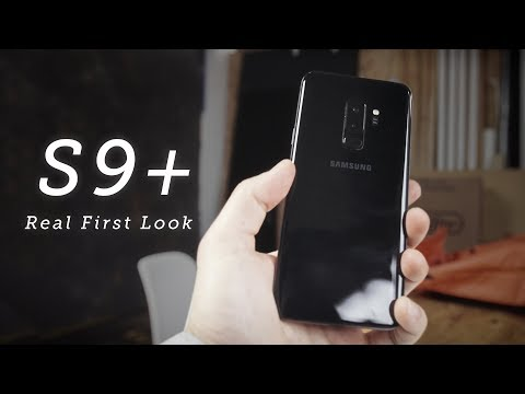 Galaxy S9+ REAL First Look | vs. iPhone X vs. Pixel 2 XL