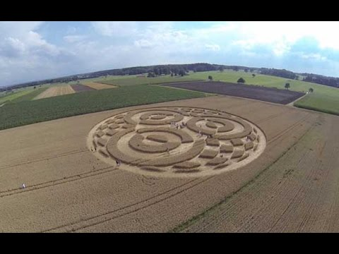 Crop Circles Appear Across South Germany