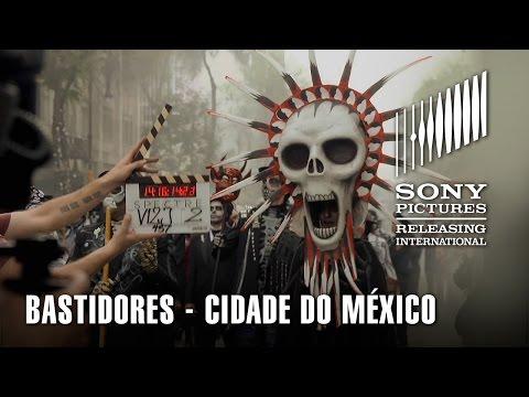 Bastidores de 007 CONTRA SPECTRE   Cidade do México