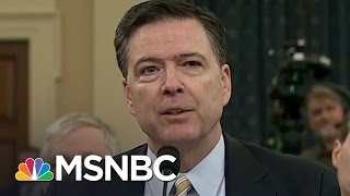 NYT: James Comey Memo Says Donald Trump Asked Him To End Flynn Investigation | MTP Daily | MSNBC