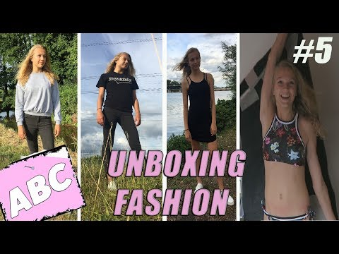UNBOXING FASHION GOODIES (ABC #5)