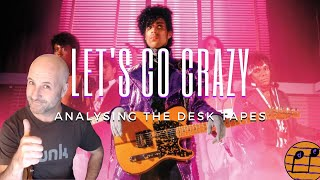 Analysing Prince's Original 24 Track Desk Recording of Let's Go Crazy from the Purple Rain Sessions.
