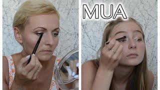 MAKIJAŻ MARKĄ MUA - makijaż dla mamy i nastolatki