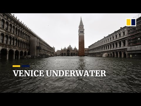 Three quarters of Venice underwater in serious flooding