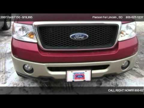 2007 ford f150 lariat for sale in aberdeen sd 57401 youtube. Black Bedroom Furniture Sets. Home Design Ideas