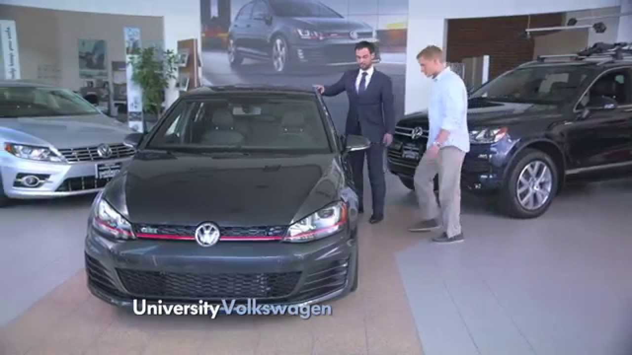 University Volkswagen | Car Commercials |