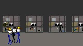 part 2 Stickman Jailbreak 1 & 6 By (Dmitry Starodymov) & Escape the Prison By (Ber Ber) Games 2020