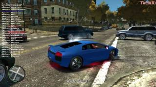 Repeat youtube video GTA 4: Ultimate Textures v2.0 HD gameplay