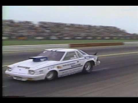 Drag Racing 1982 NHRA U S  Nationals PRO STOCK Semi Final Round