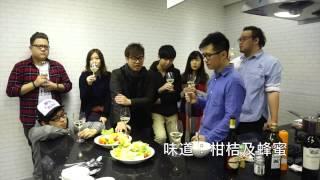 lb廚房 與youtuber飲飲食食 part 1 芒果乳酪沙律