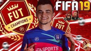 Mega dużo paczek!! NAGRODY ZA DIVISION RIVALS I FUT CHAMPIONS! | FIFA 19㋡MafiaSolecTeam!