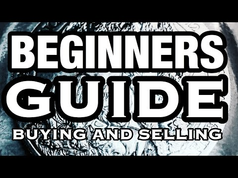 BEGINNERS GUIDE FOR BUYING AND SELLING SILVER BULLION COINS - HOW TO MAKE MONEY AND WHAT TO LOOK FOR
