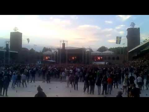 Ozzy Osbourne - Intro + Bark at the Moon - Live at Stockholm Stadium - 25 May 2012